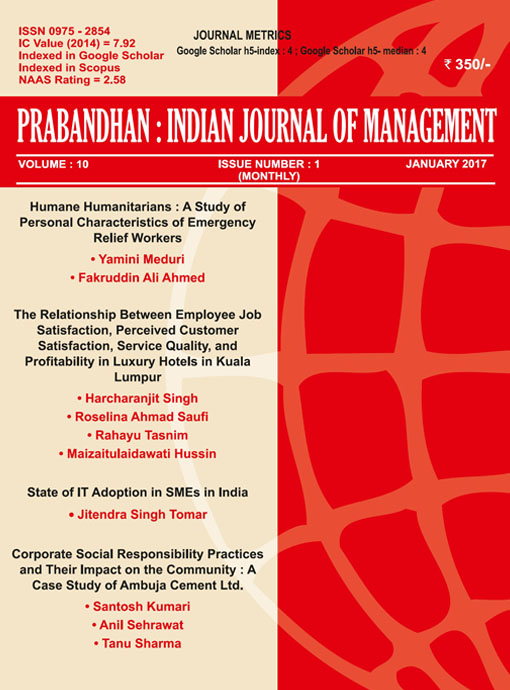 School of Business Newsletter Indian Journal of Marketing February