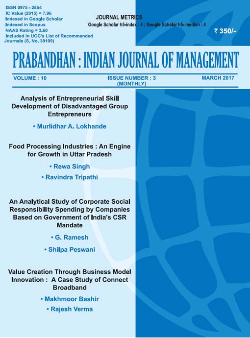 Indian Journal of Management March